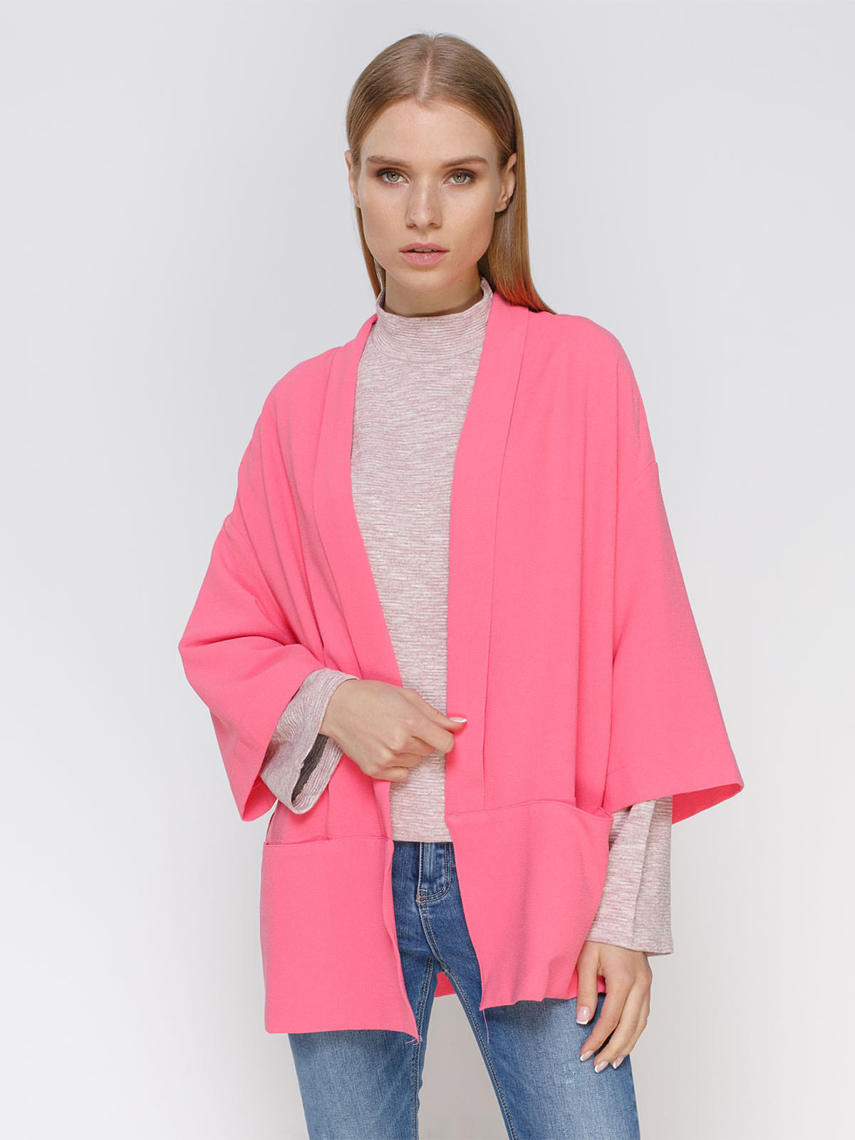 Кардиган рожевий | 4651718