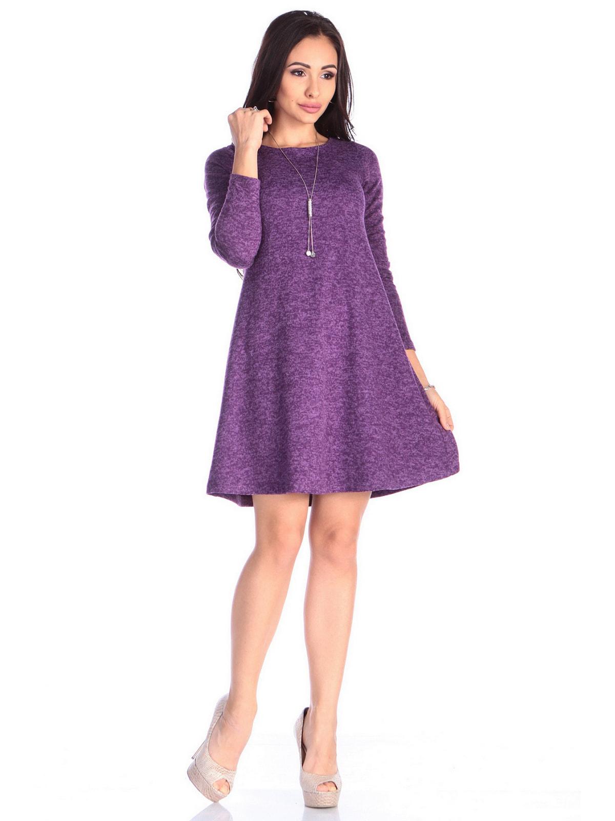 Платье фиолетовое   4690432