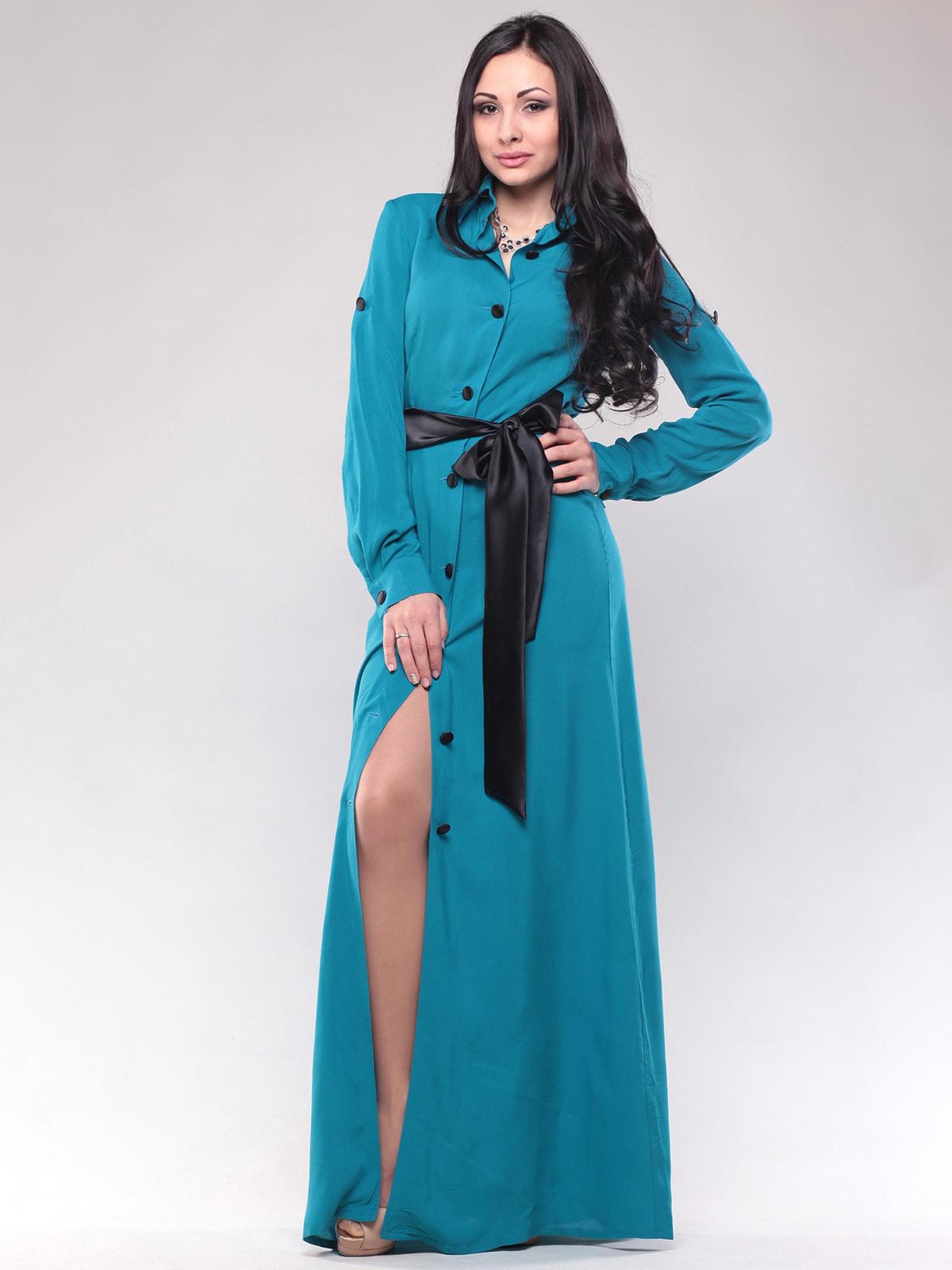 Платье бирюзовое   4690450