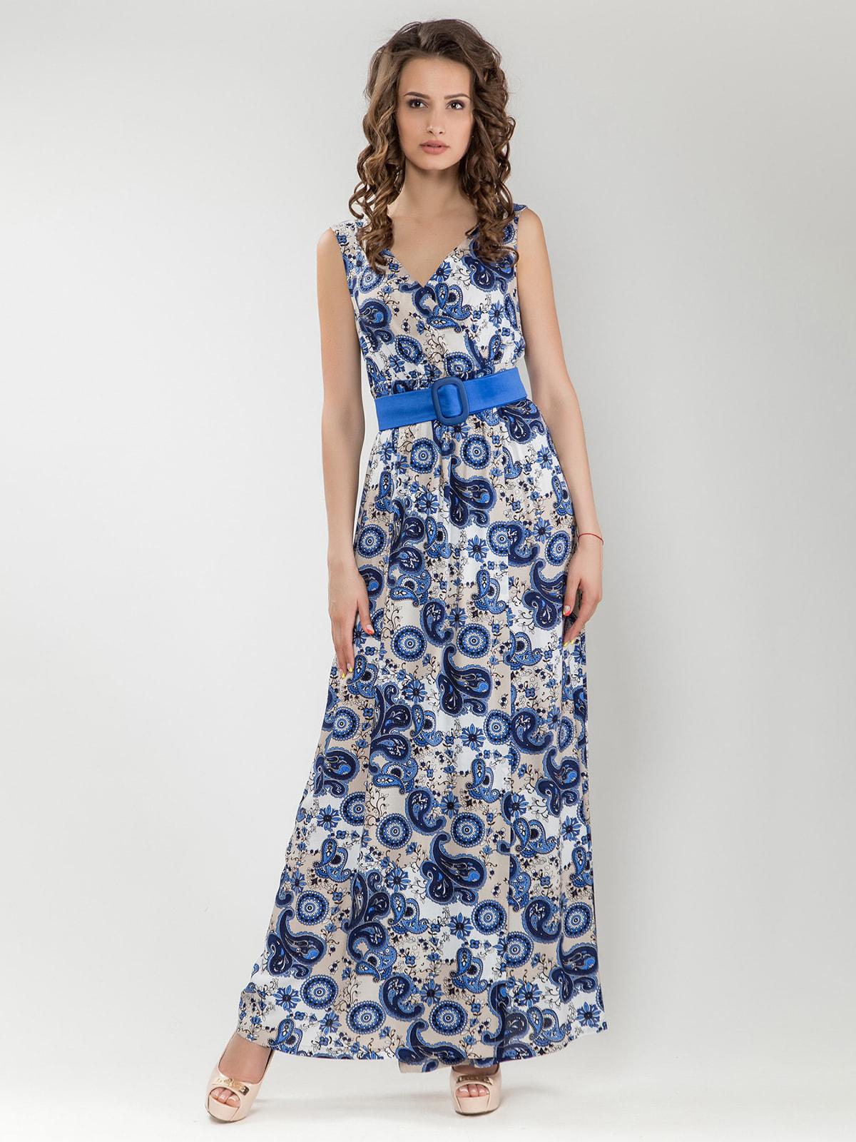 Платье в принт   4690470
