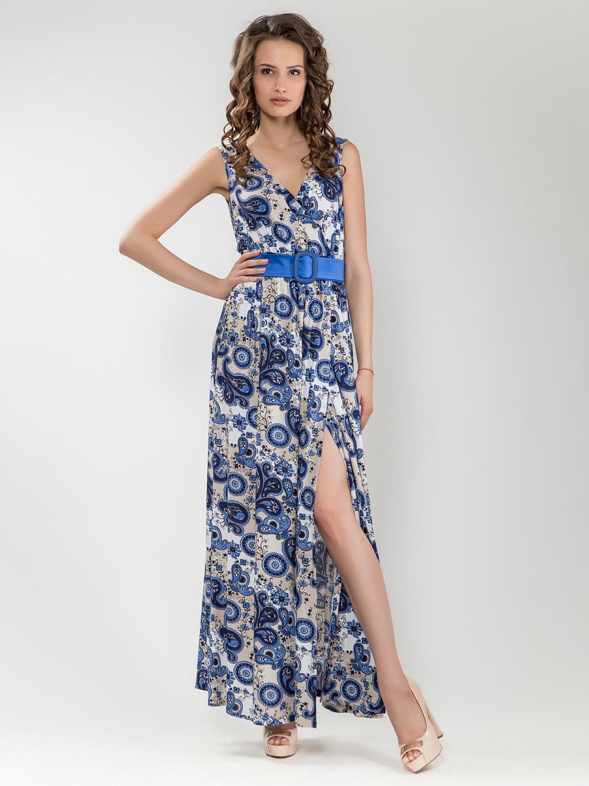 Платье в принт   4690470   фото 2