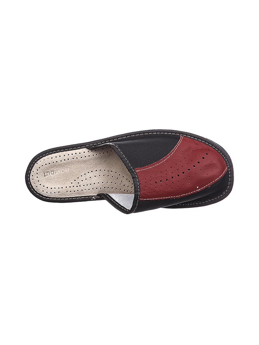 Тапочки черно-красные   4692042   фото 2