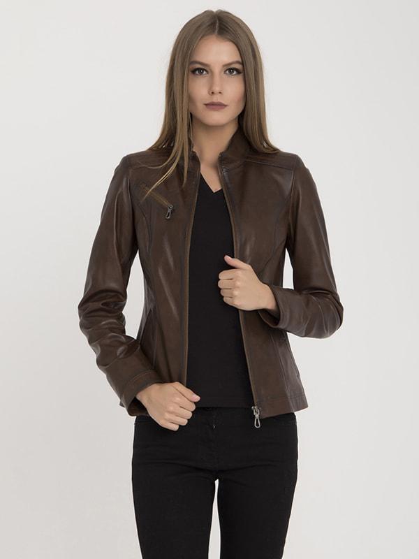 Куртка коричневая | 4692790 | фото 3