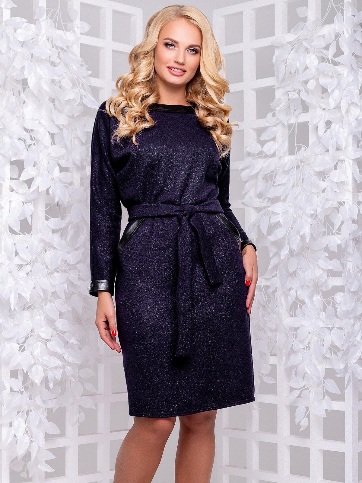 Платье темно-синее   4692486