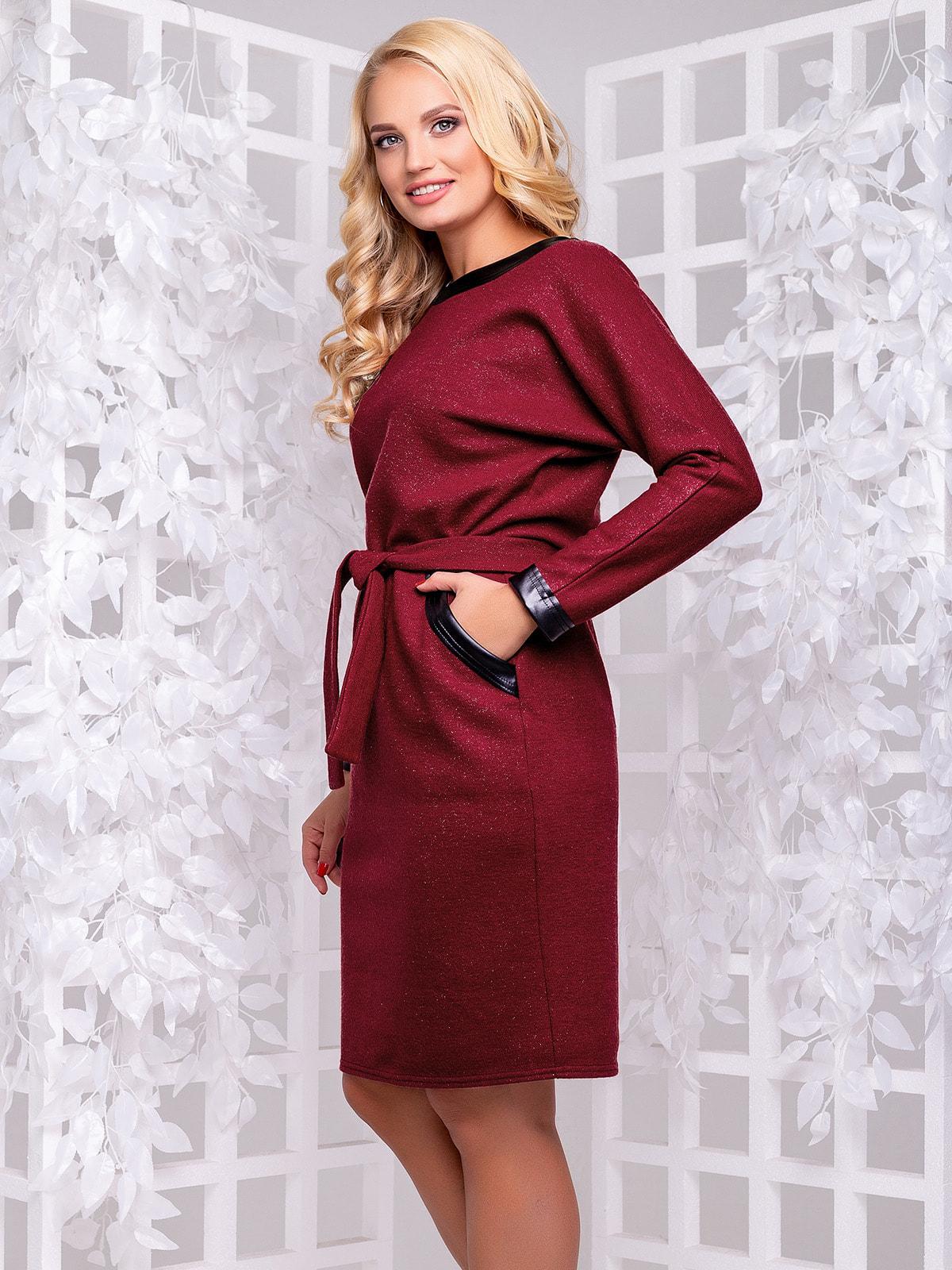 Сукня бордова | 4692487 | фото 2