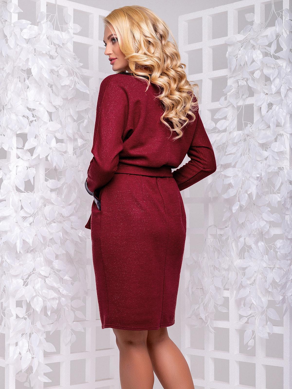 Сукня бордова | 4692487 | фото 3