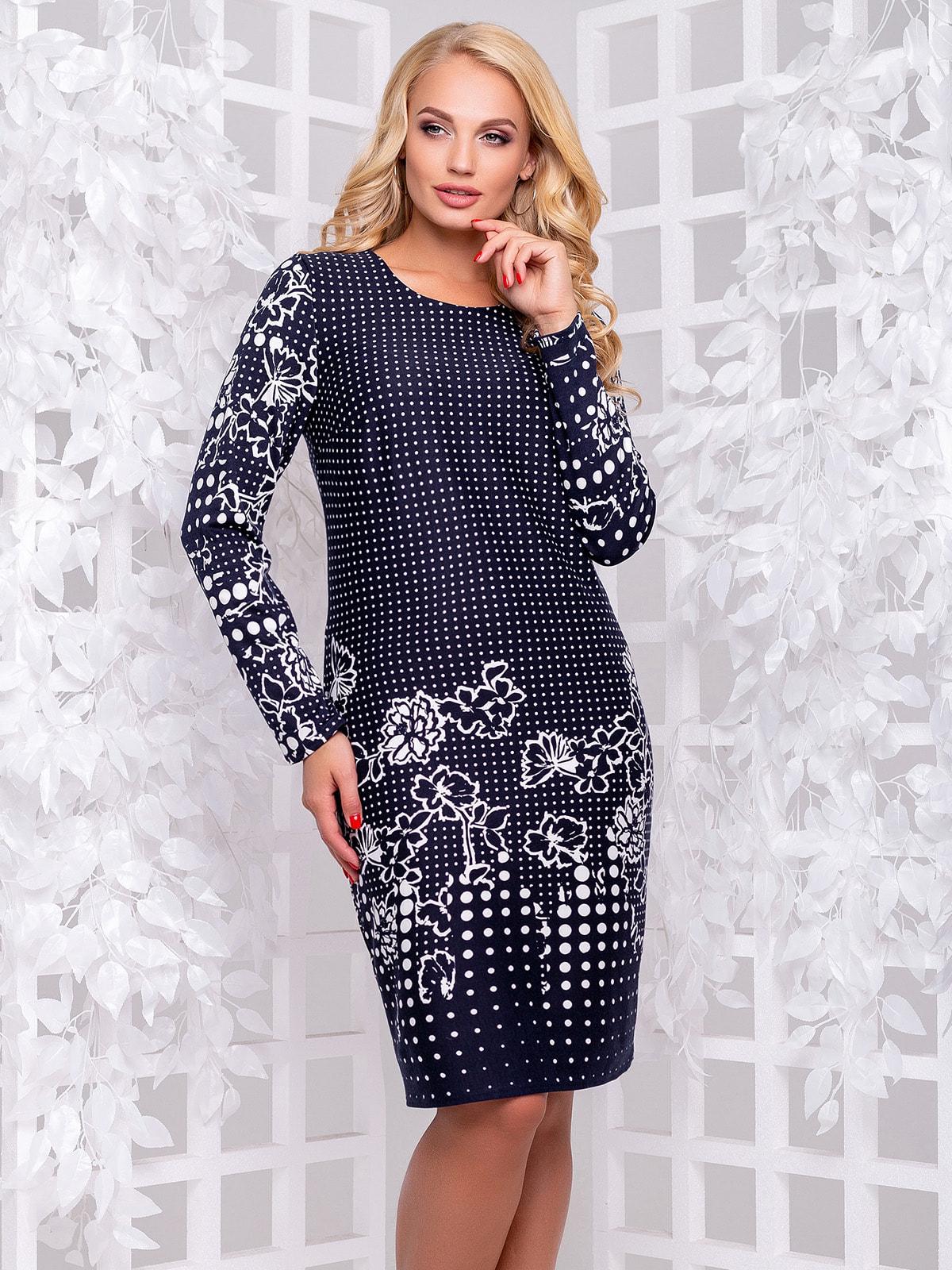 Платье в цветочный принт   4692499