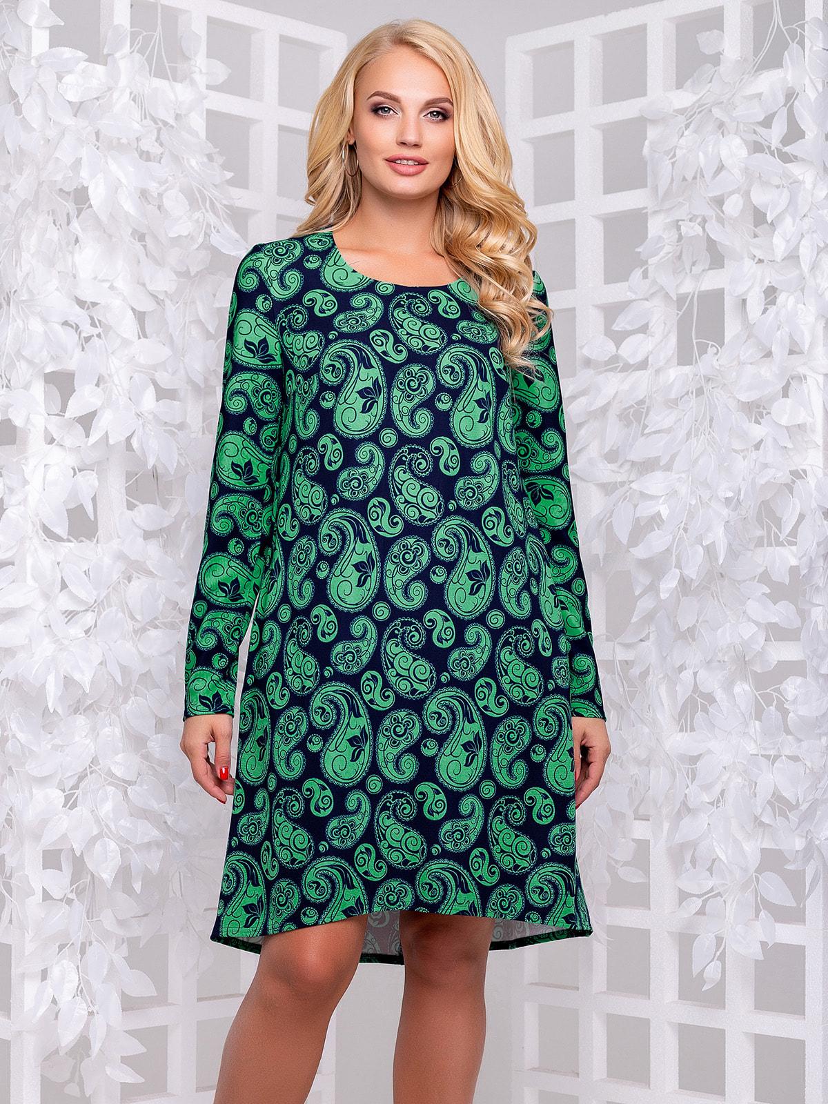 Платье в принт | 4692505