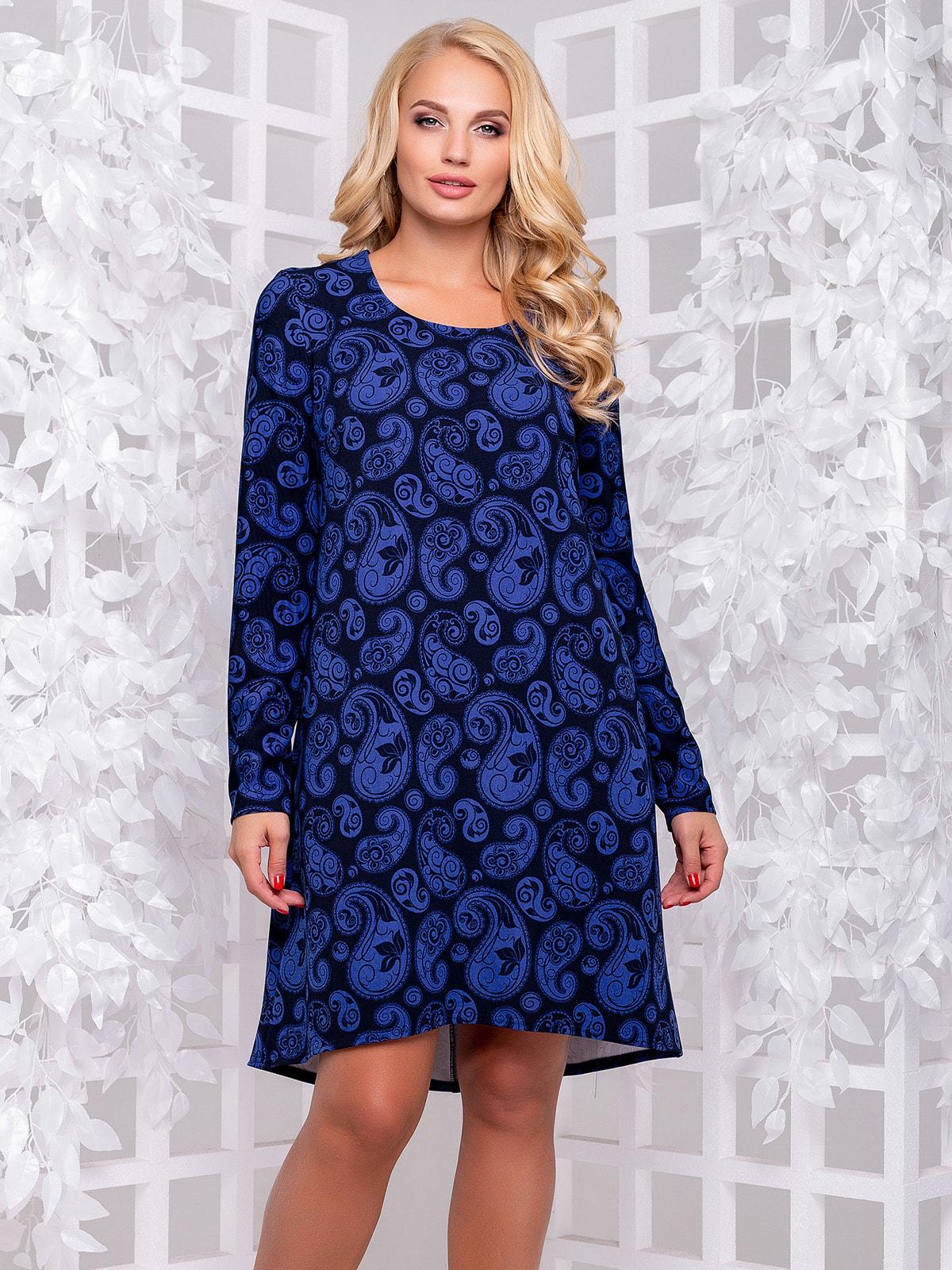 Платье в принт   4692506