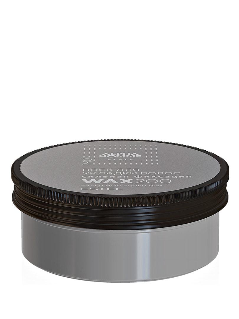 Воск для укладки волос — сильная фиксация Alpha Homme Pro (200 мл) | 4693928