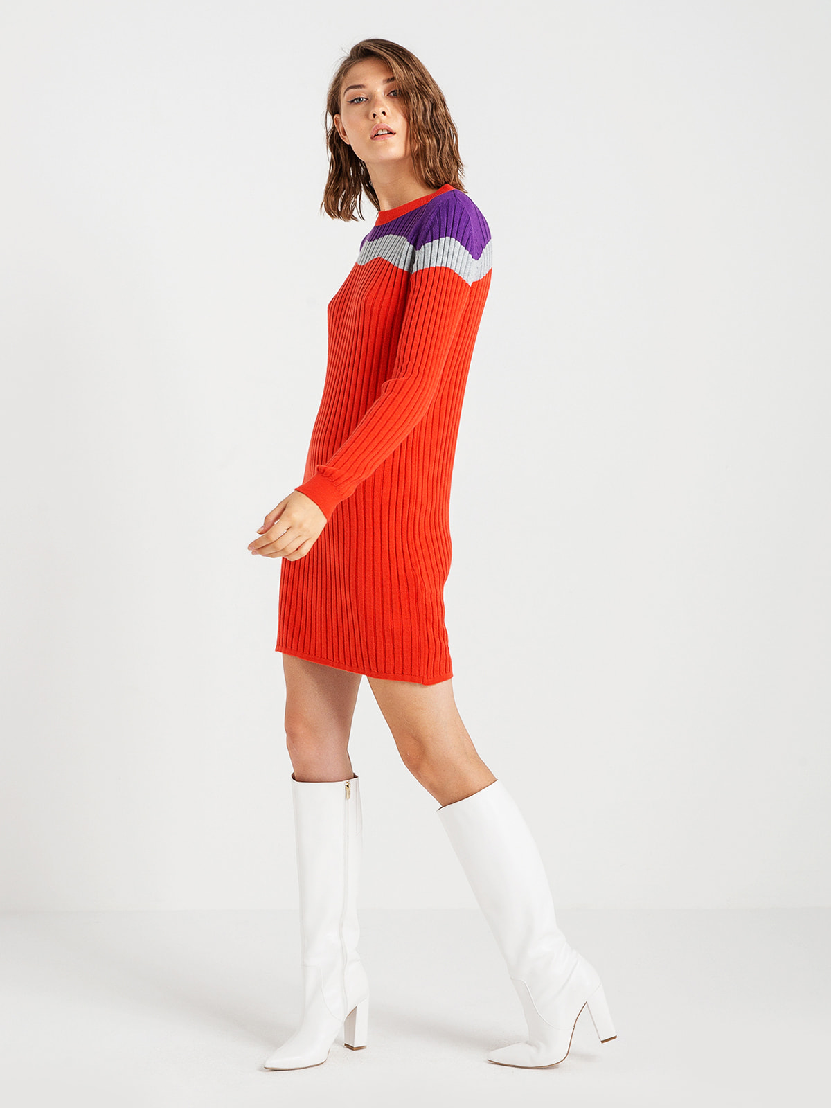 Платье трехцветное | 4574982