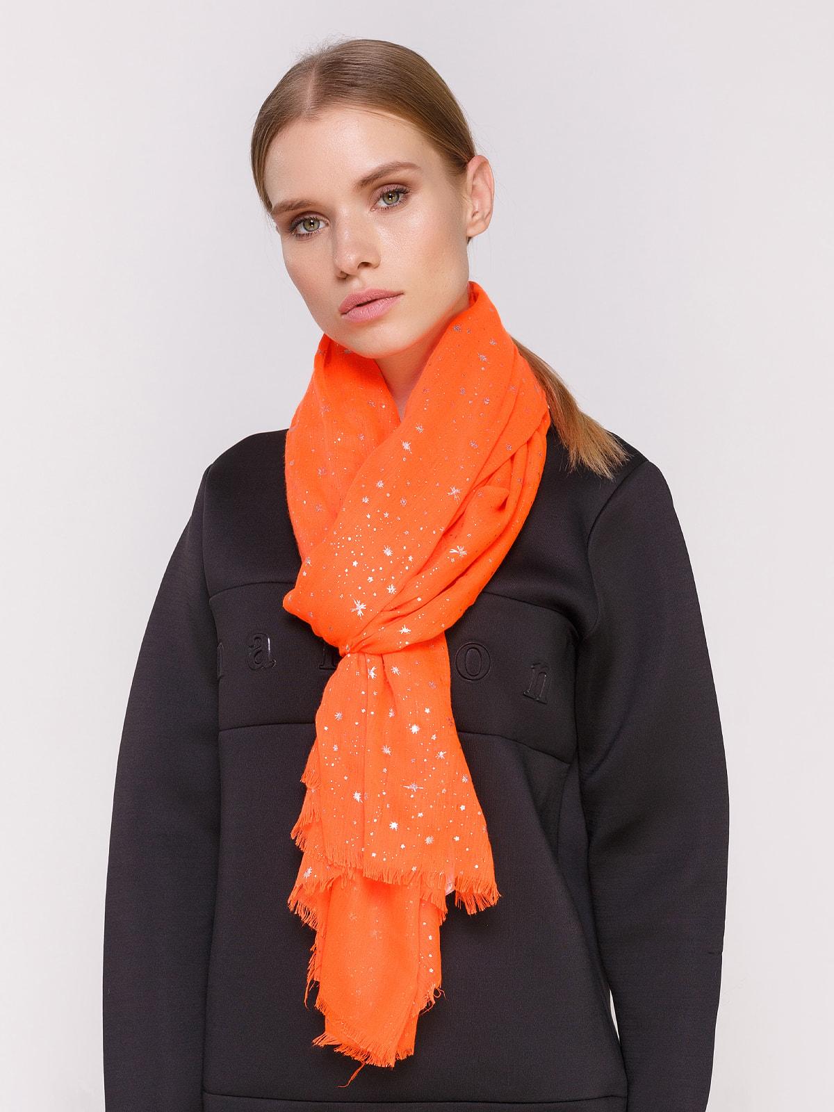 Шарф оранжевый | 4646833