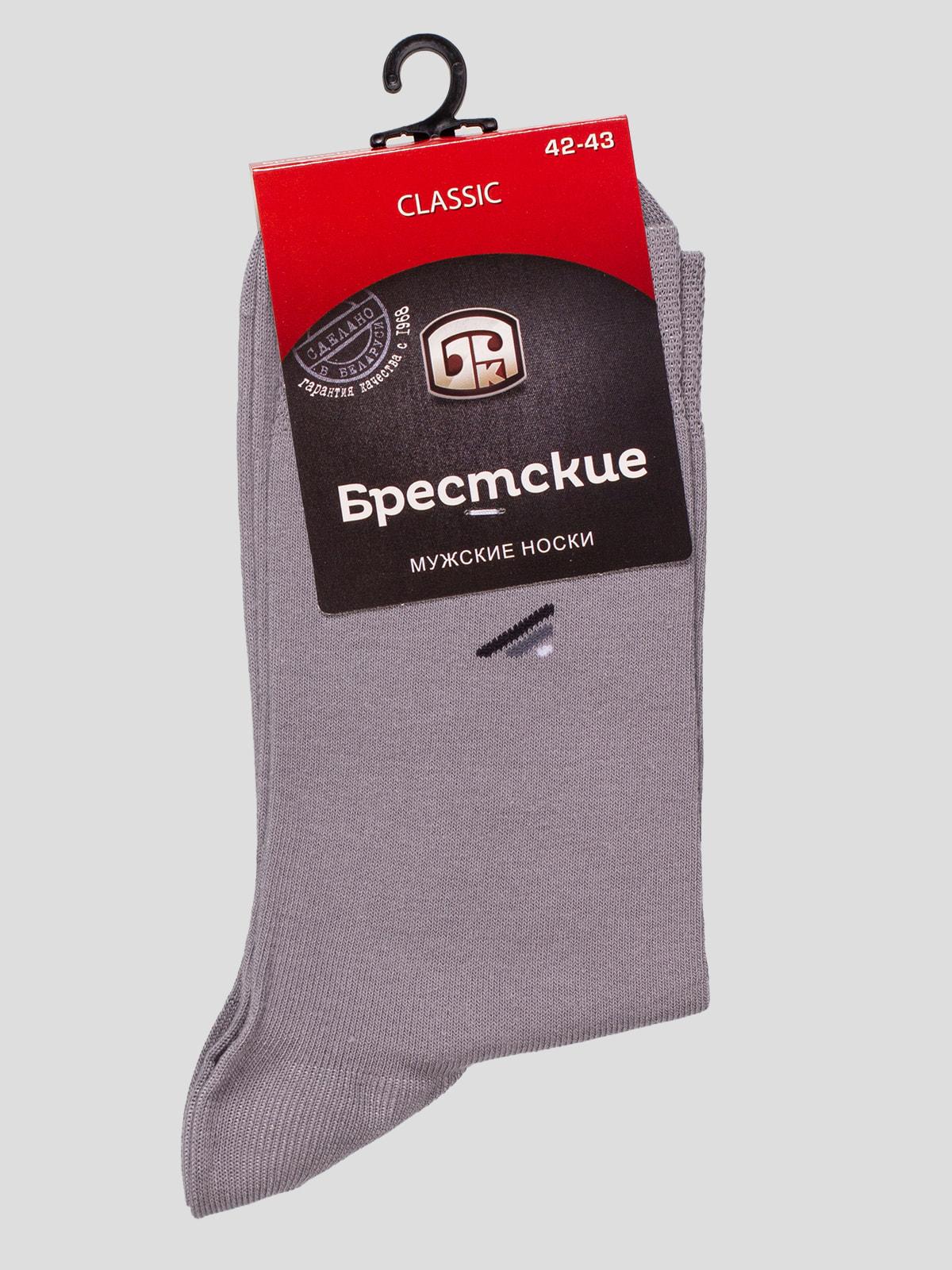 Шкарпетки світло-сірі   4663438