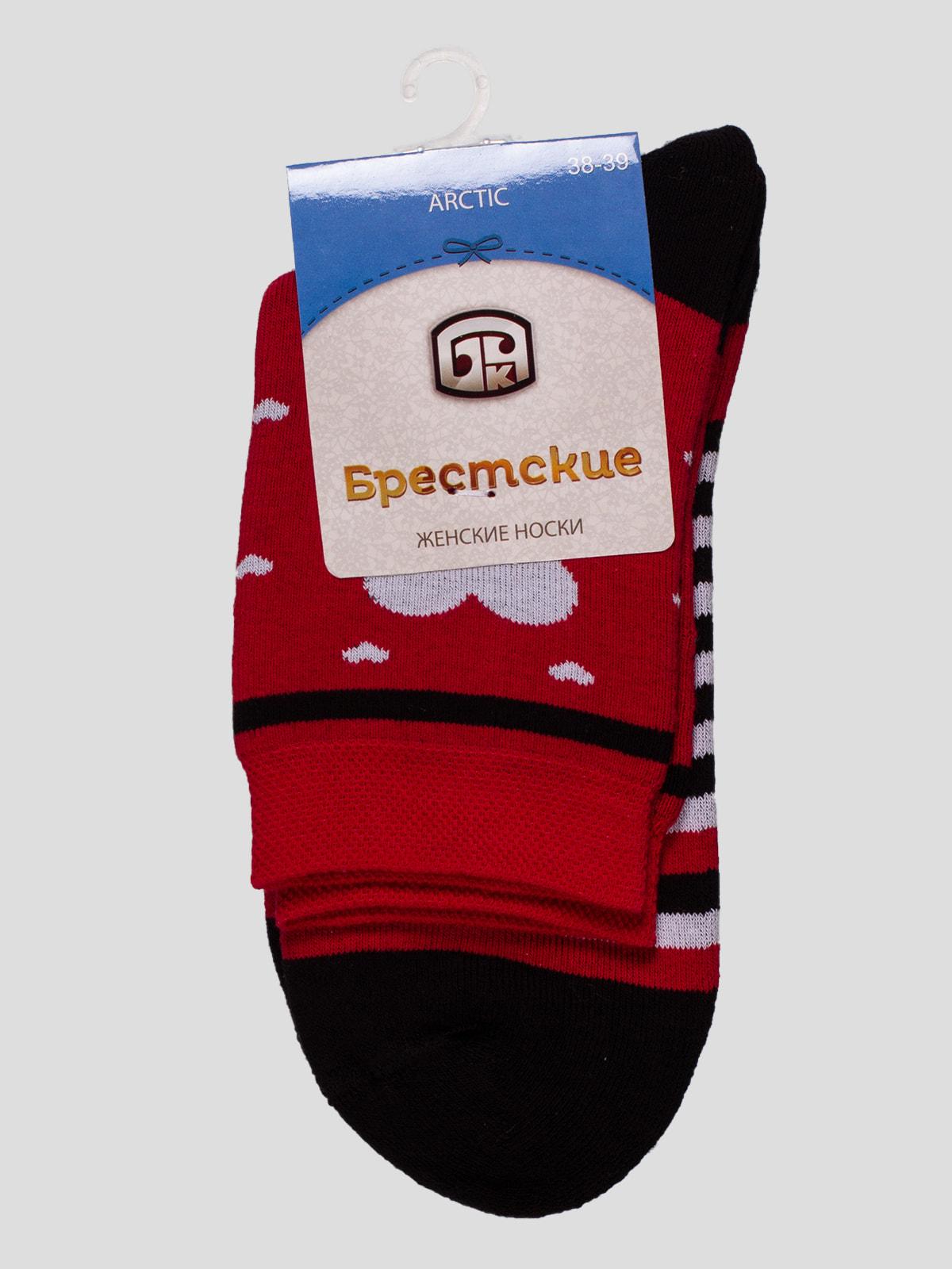 Носки красные | 4663387