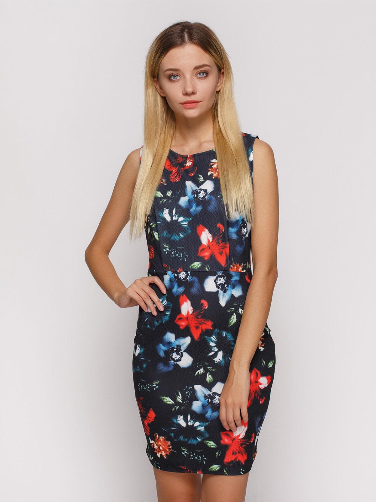 Сукня в квітковий принт | 4647342