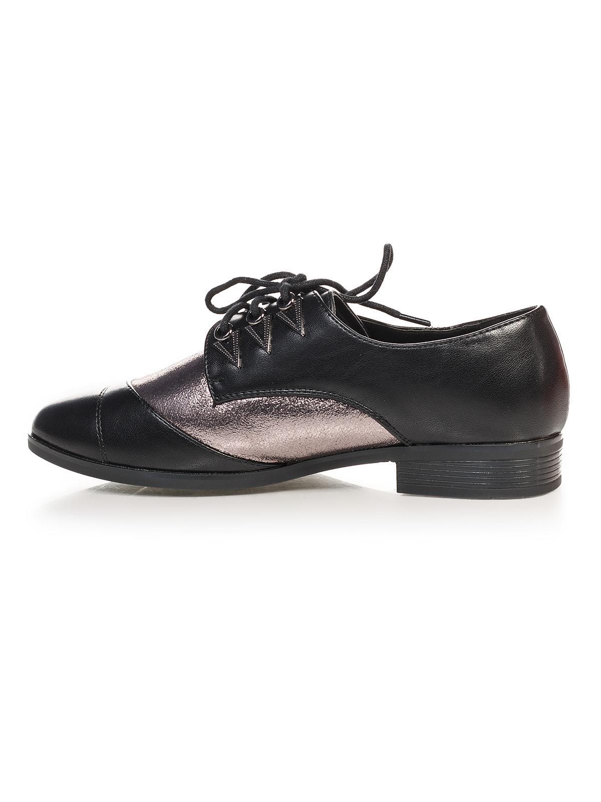 Туфли черно-серебристые   4692833   фото 2