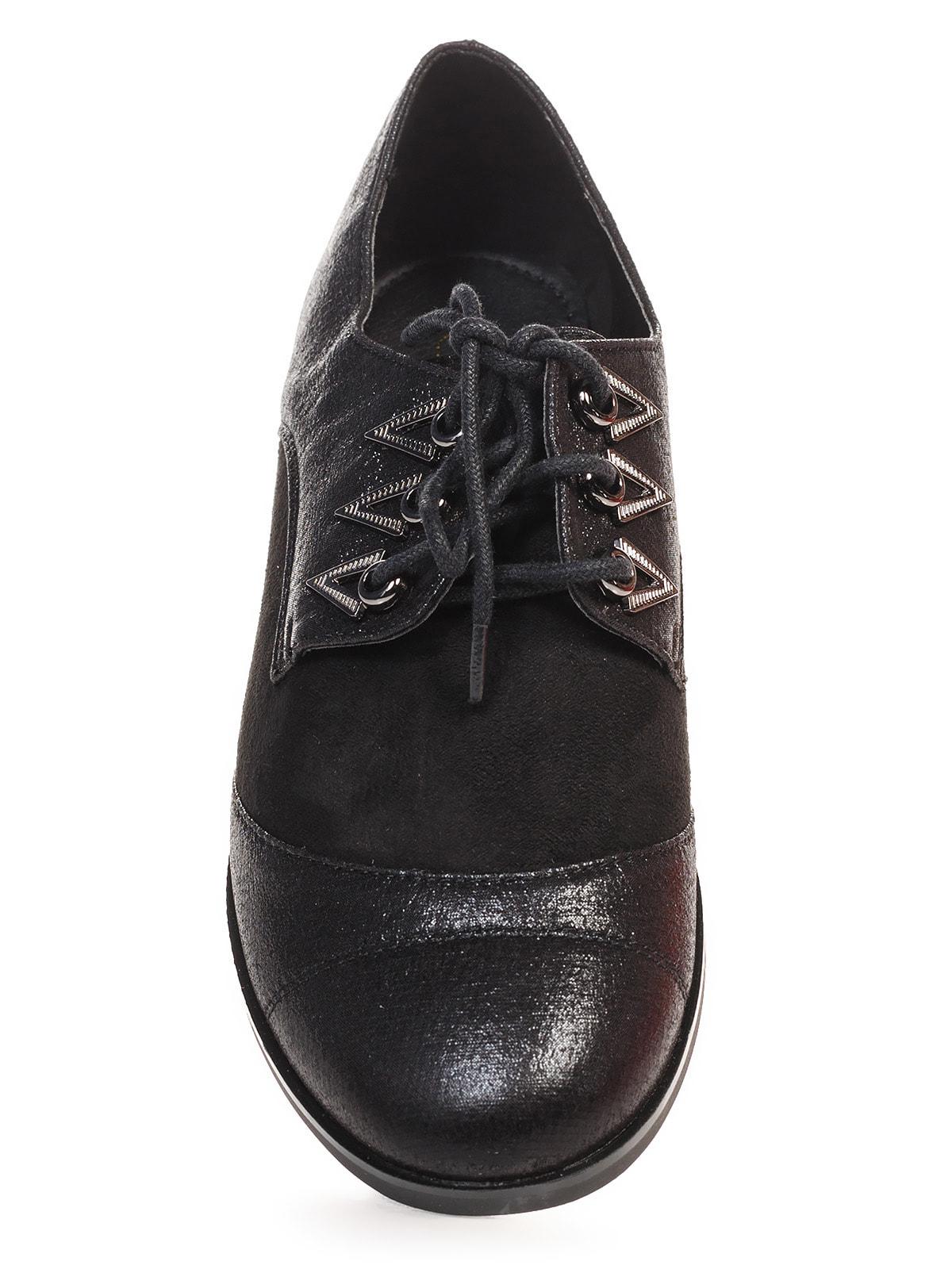 Туфли черные | 4692835 | фото 4