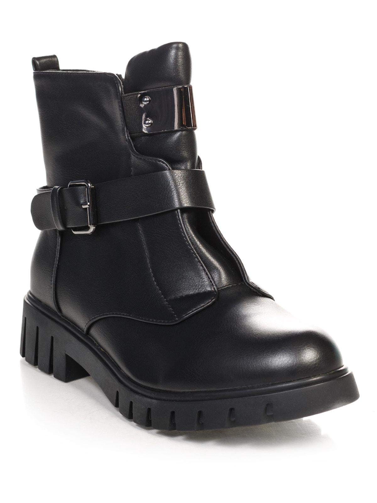 Ботинки черные | 4688275