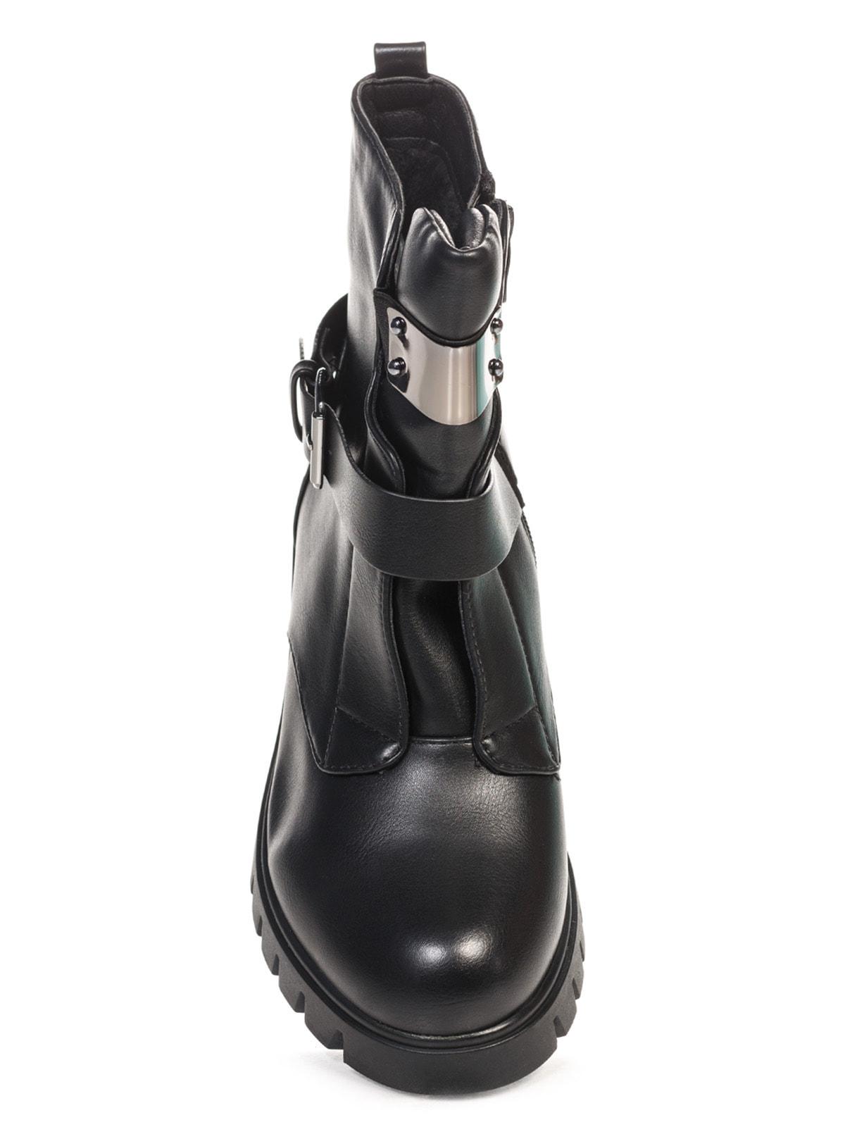 Ботинки черные | 4688275 | фото 4