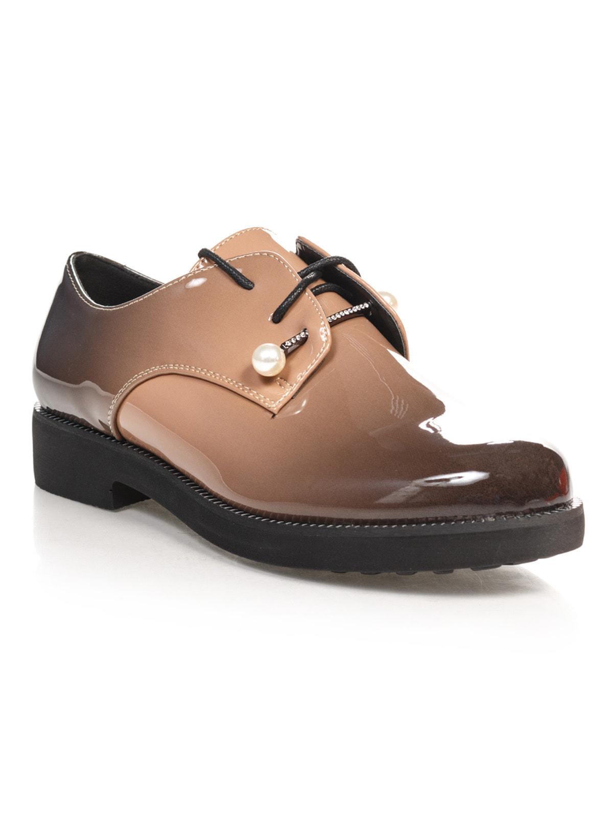 Туфли коричневые   4692814