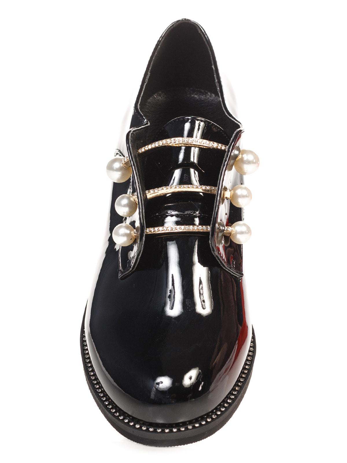 Туфли черные | 4692817 | фото 4