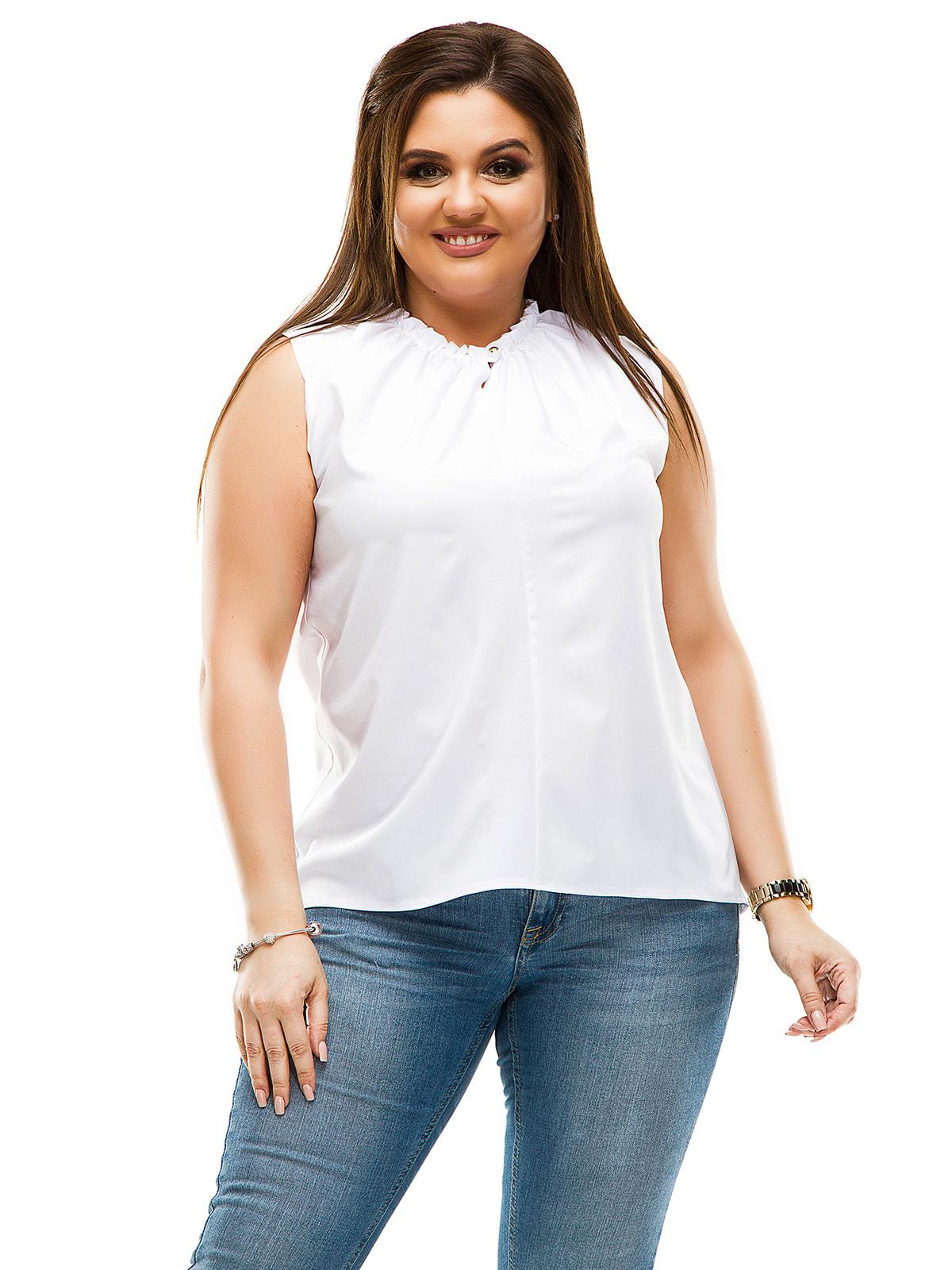 Блуза белая   4614115