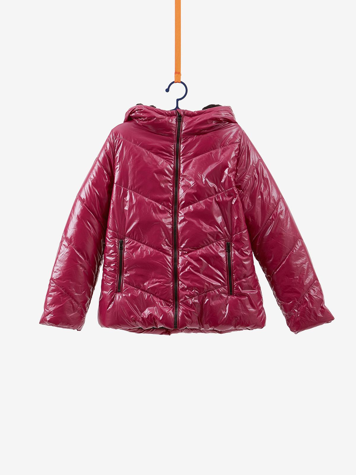 Куртка темно-малиновая | 4649212