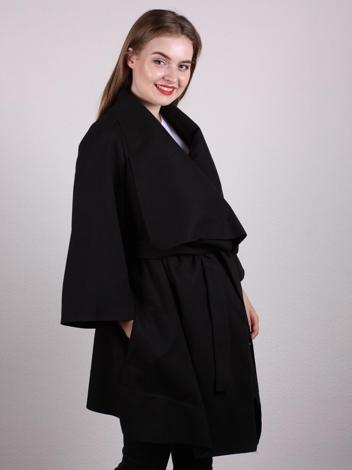 Пальто черное | 4697594