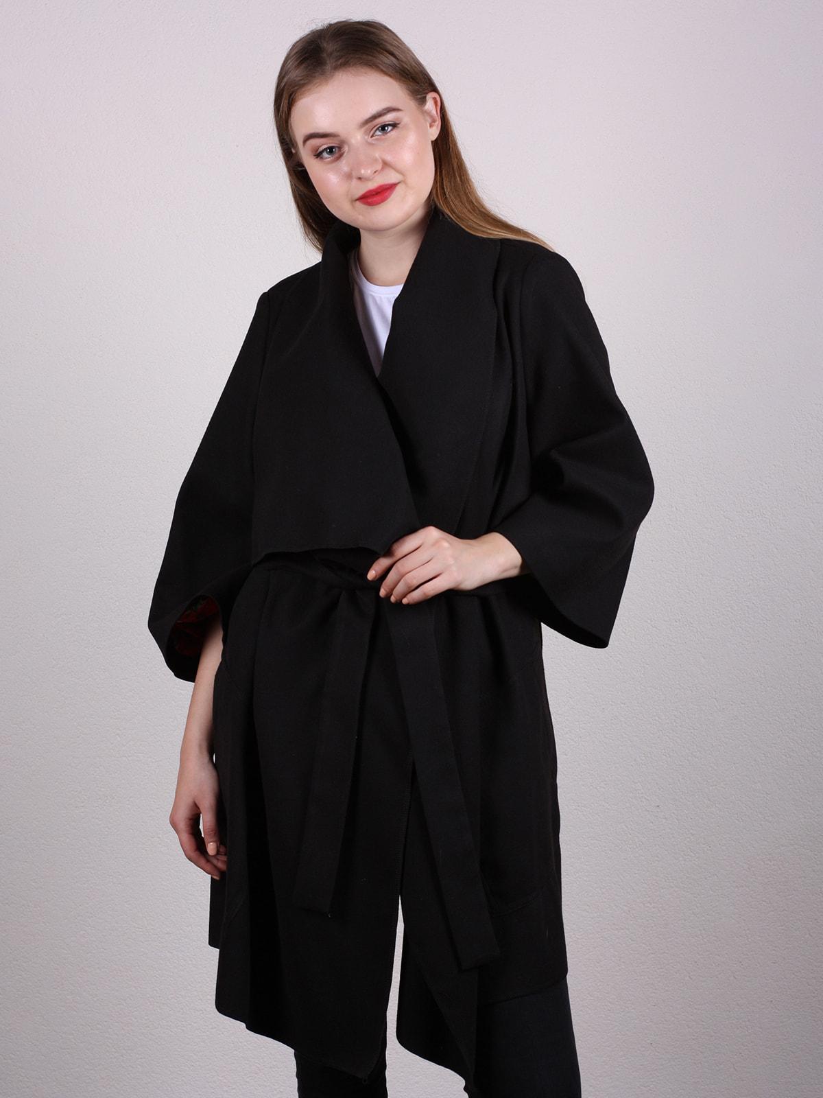 Пальто черное | 4697594 | фото 2