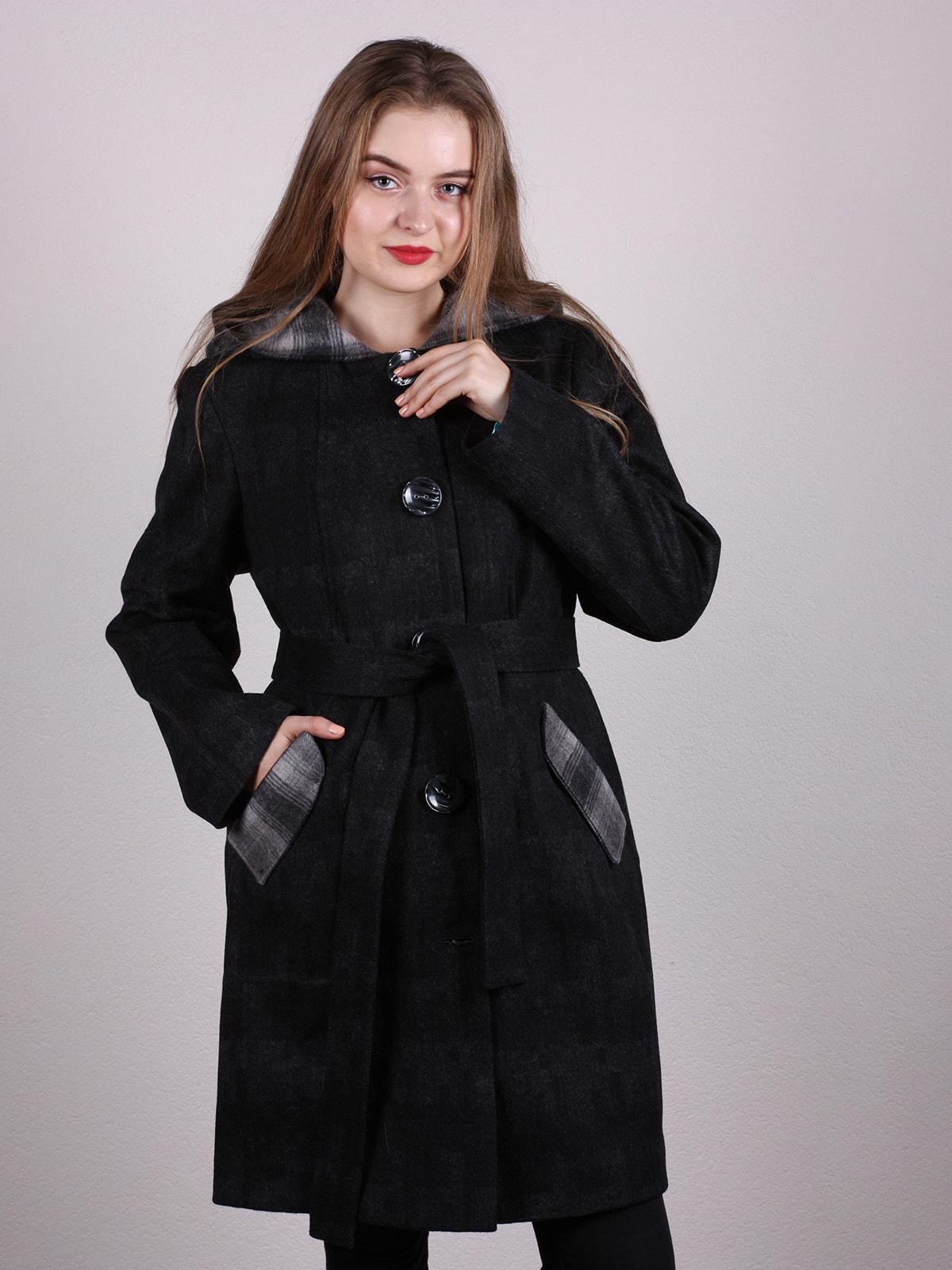 Пальто черное | 4697611