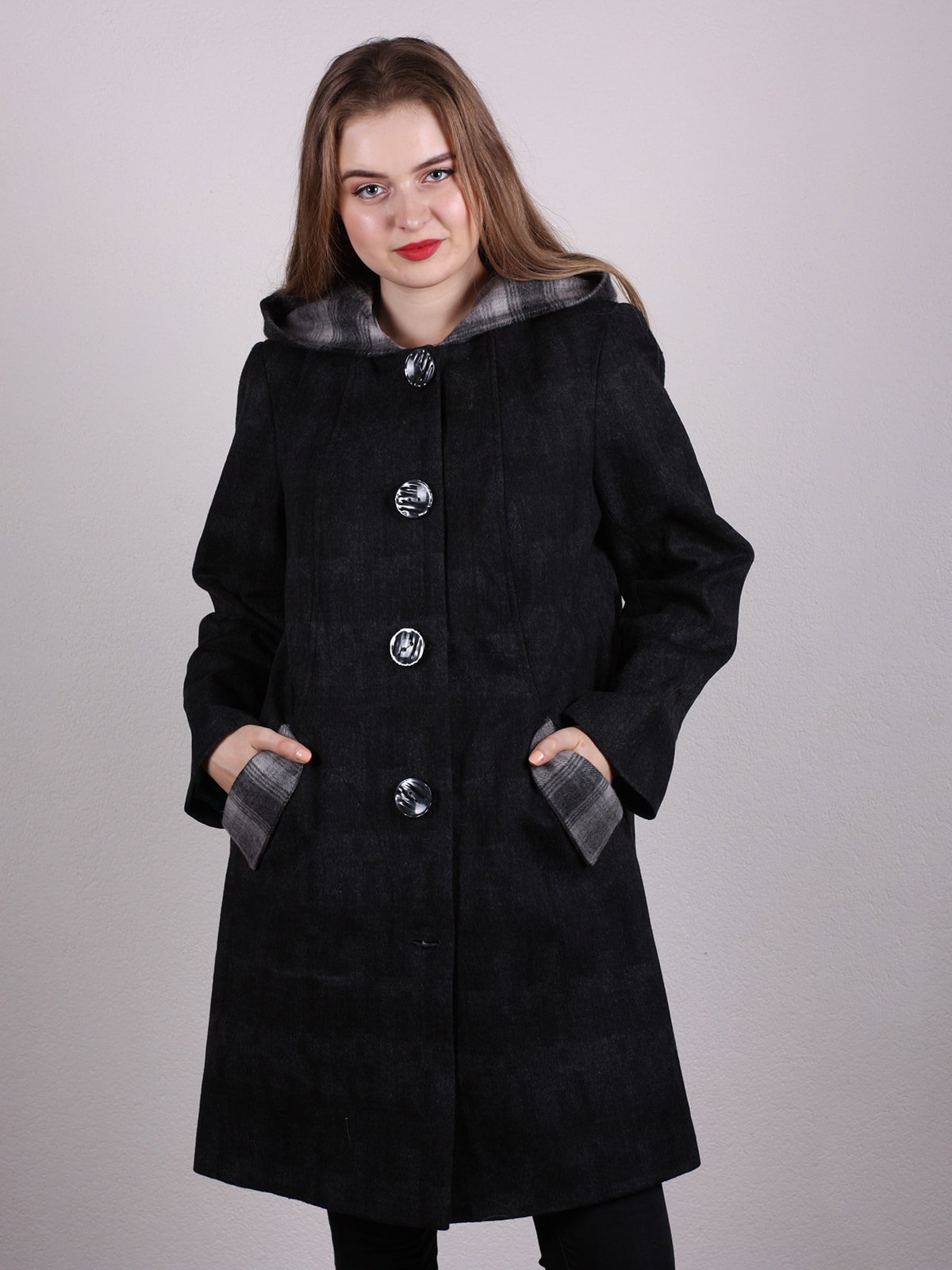 Пальто черное | 4697611 | фото 2