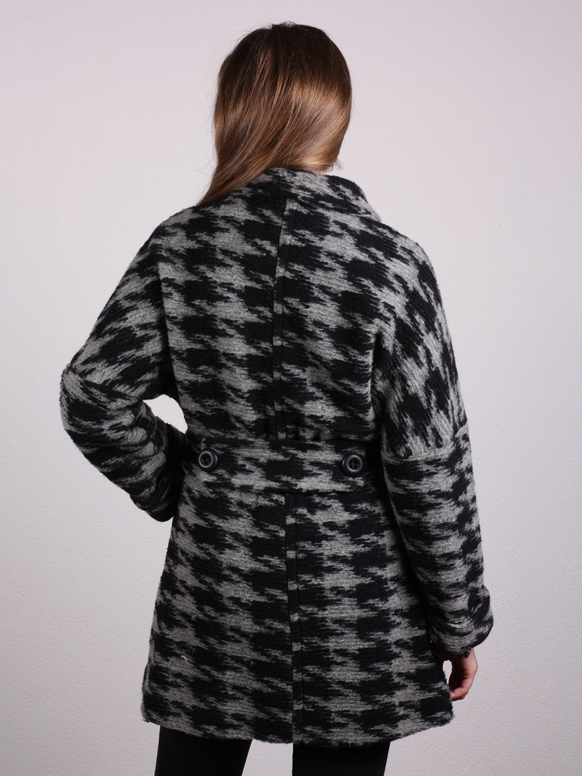 Пальто двухцветное   4697612   фото 3