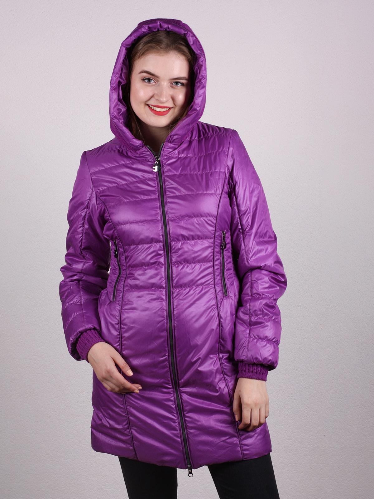 Пальто фиолетовое | 4697630