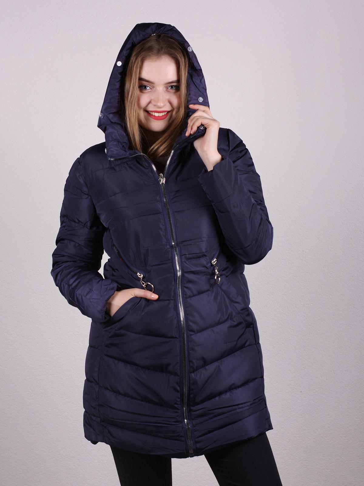 Пальто темно-синее | 4697635 | фото 2