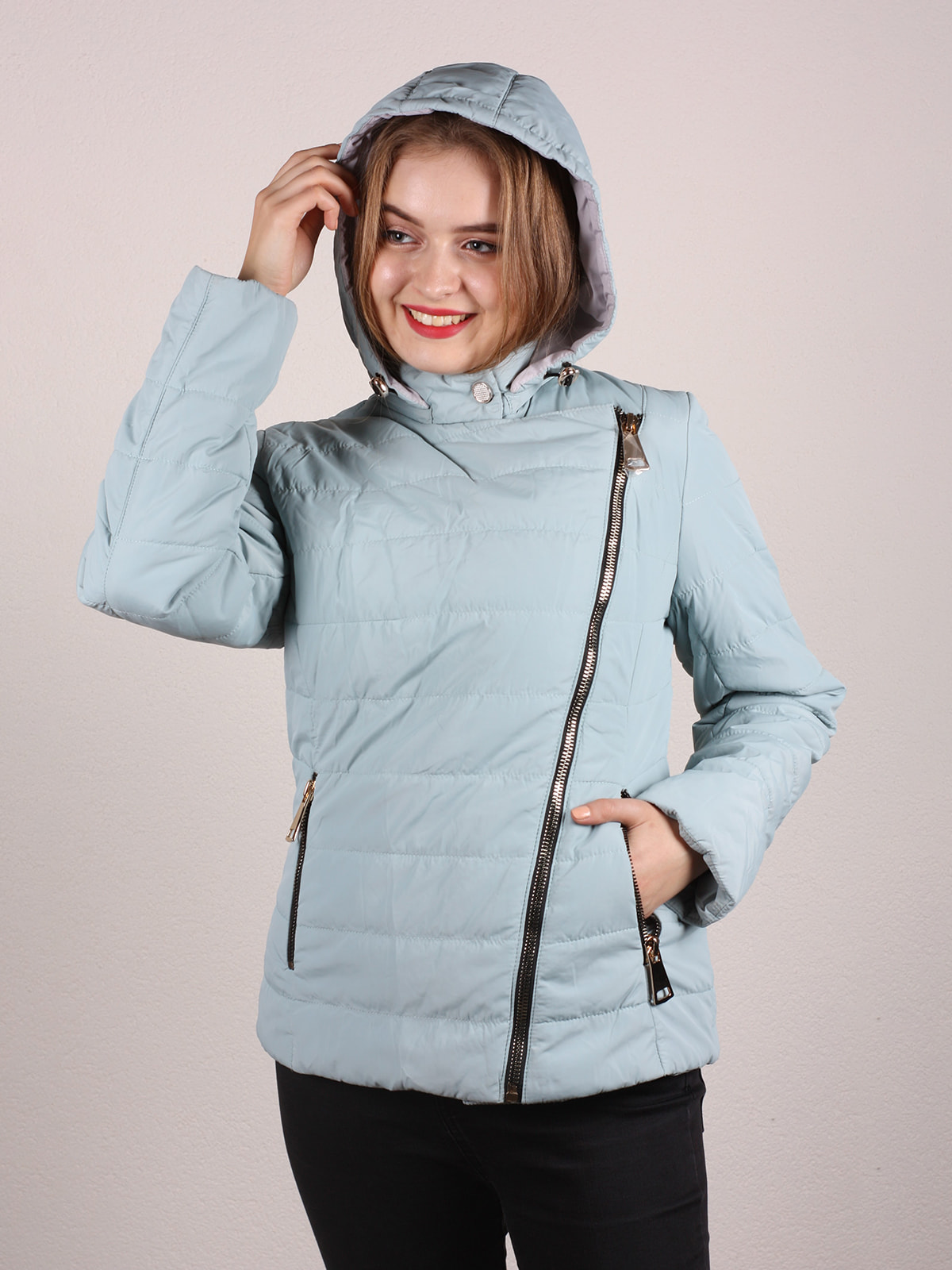Куртка голубая | 4697643