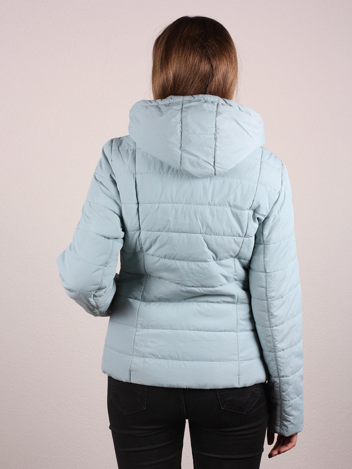 Куртка голубая | 4697643 | фото 3