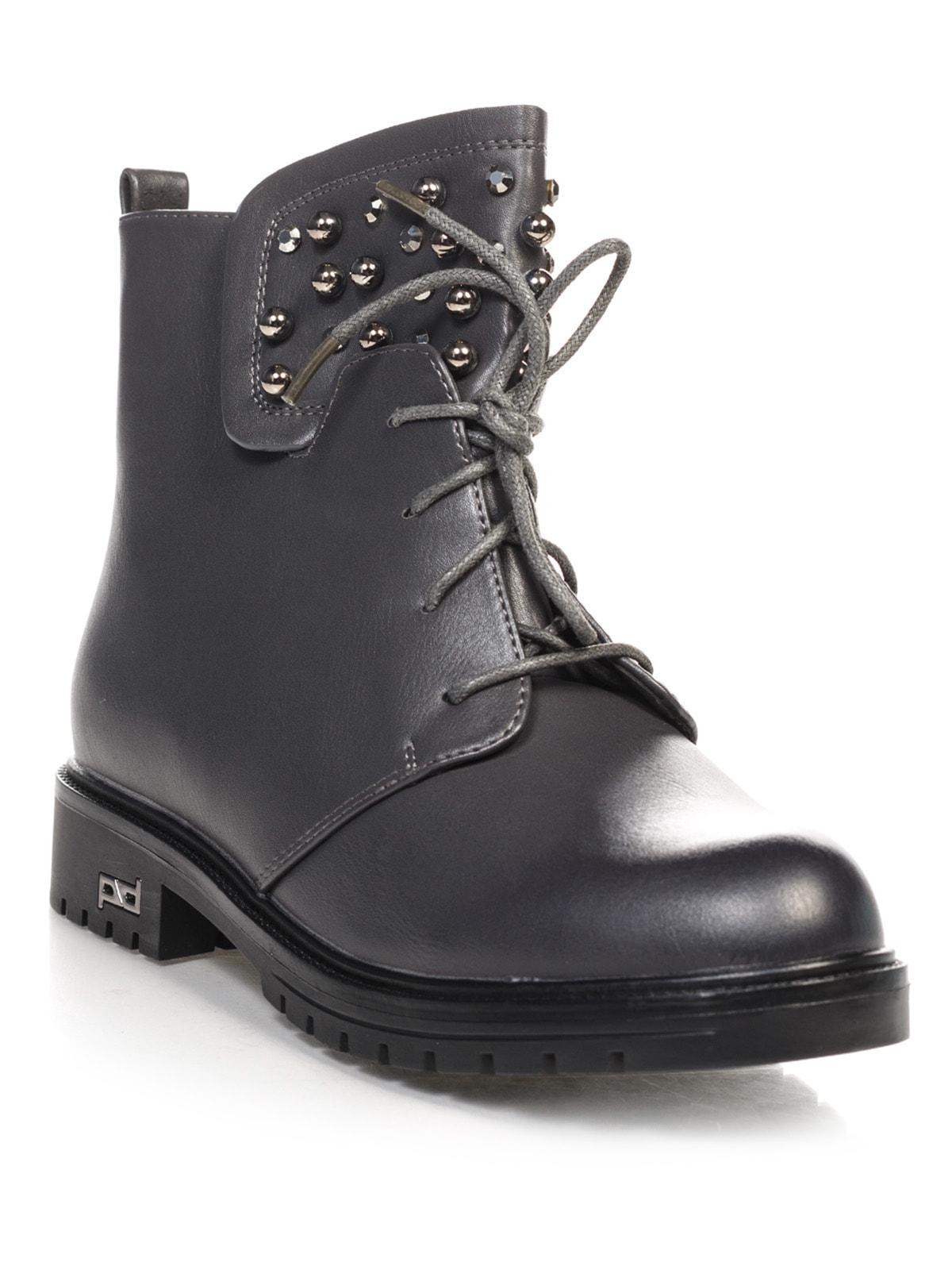Ботинки серые | 4688264