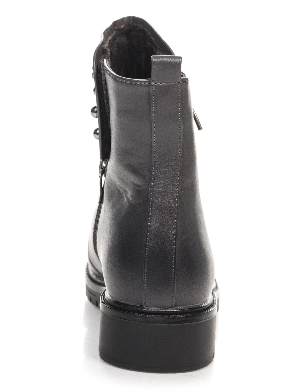 Ботинки серые | 4688264 | фото 3
