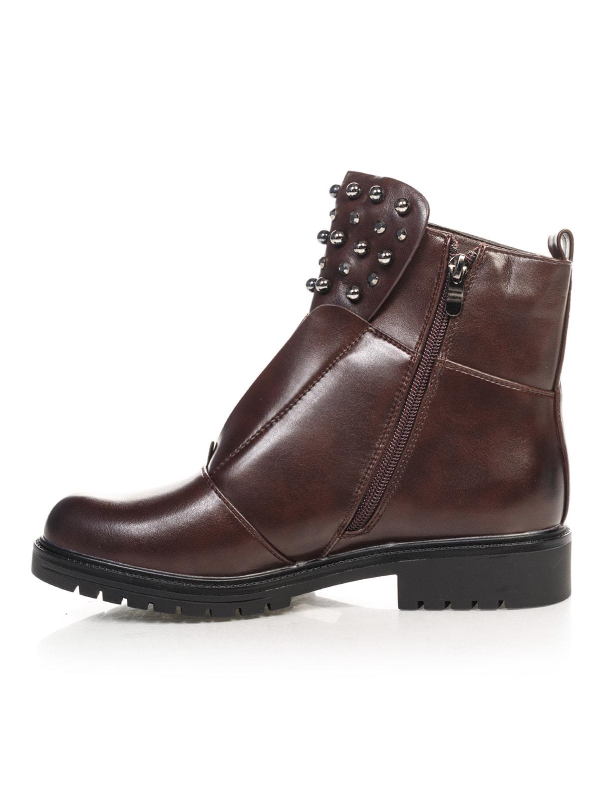 Ботинки коричневые | 4688257 | фото 2