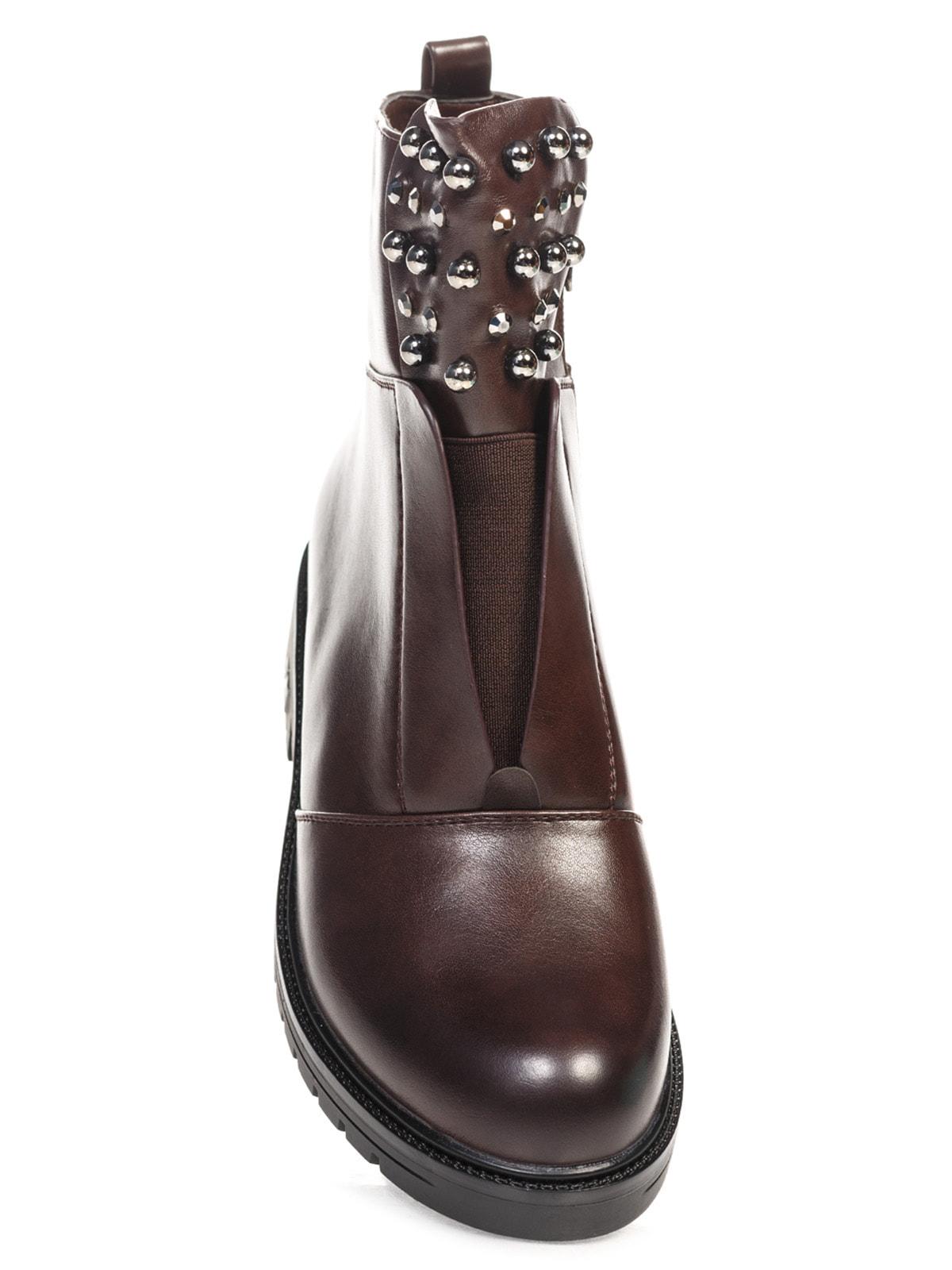 Ботинки коричневые | 4688257 | фото 4