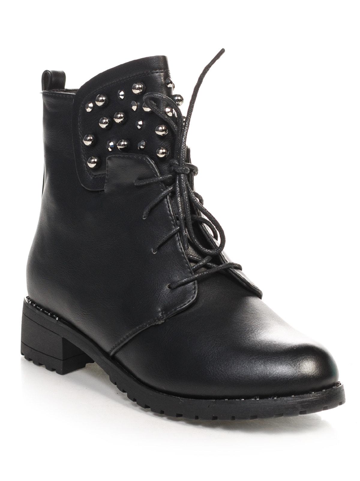 Ботинки черные | 4688255