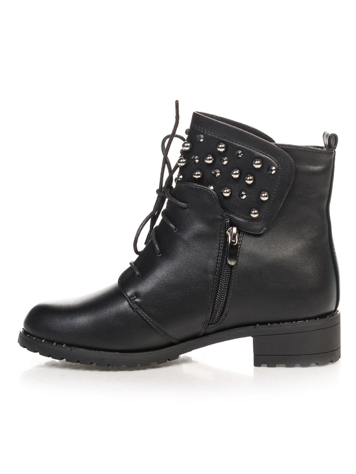 Ботинки черные | 4688255 | фото 2
