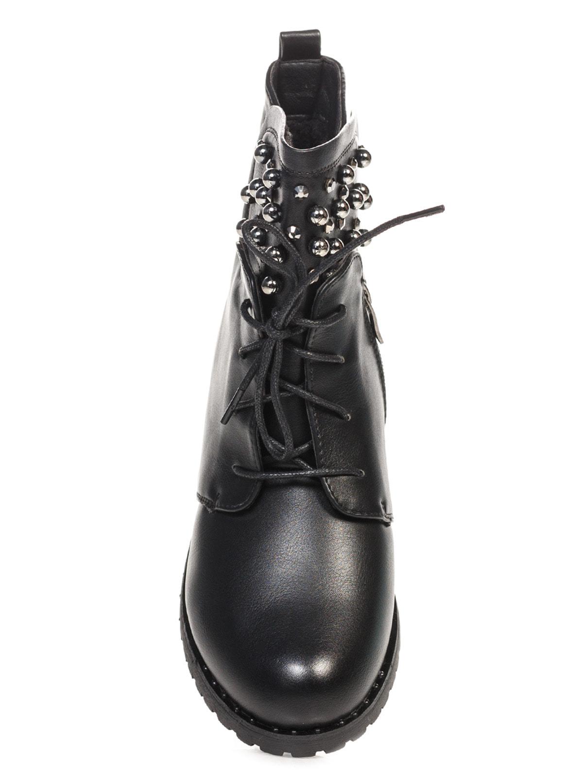 Ботинки черные | 4688255 | фото 4