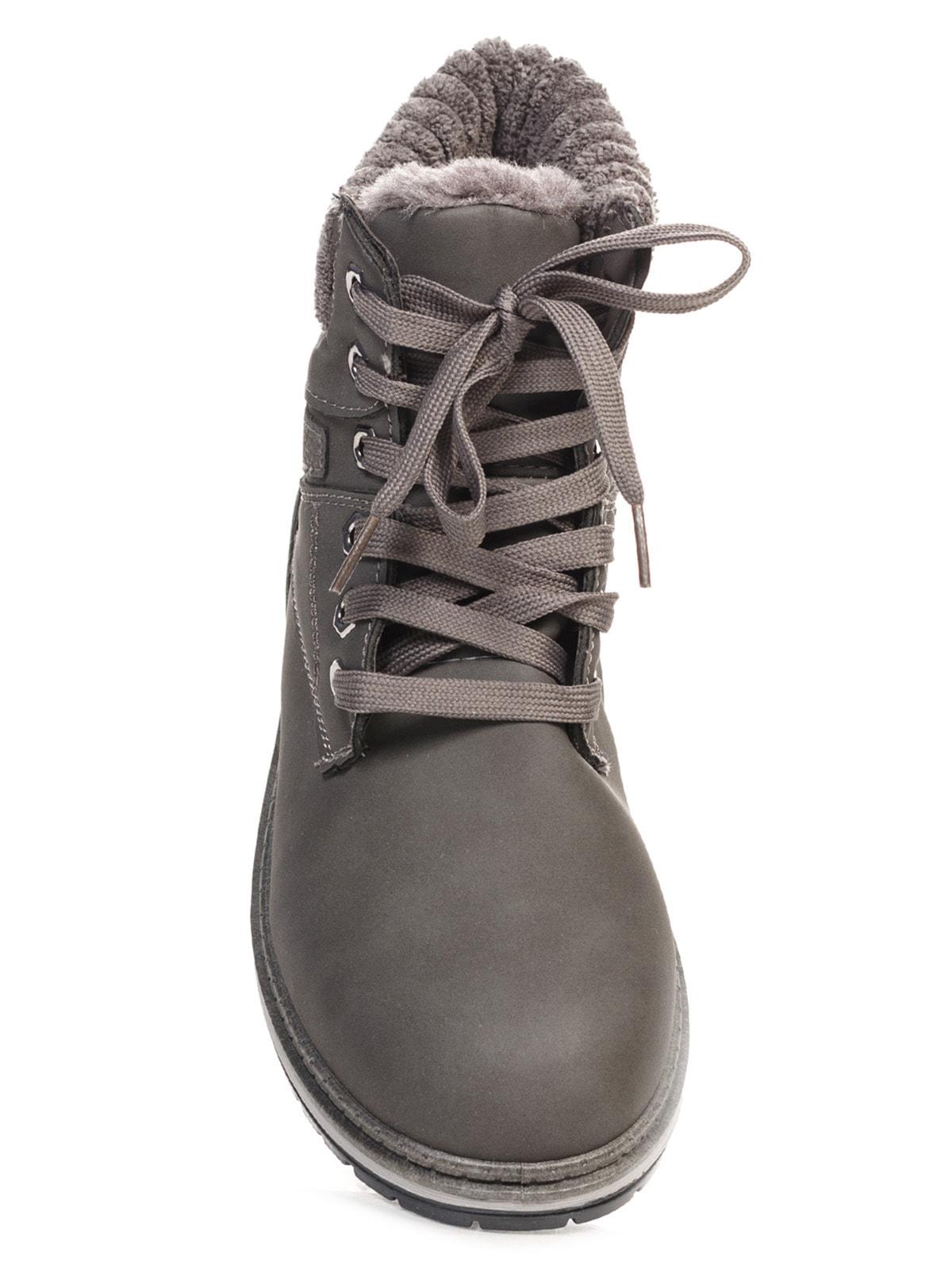 Ботинки серые   4663774   фото 4