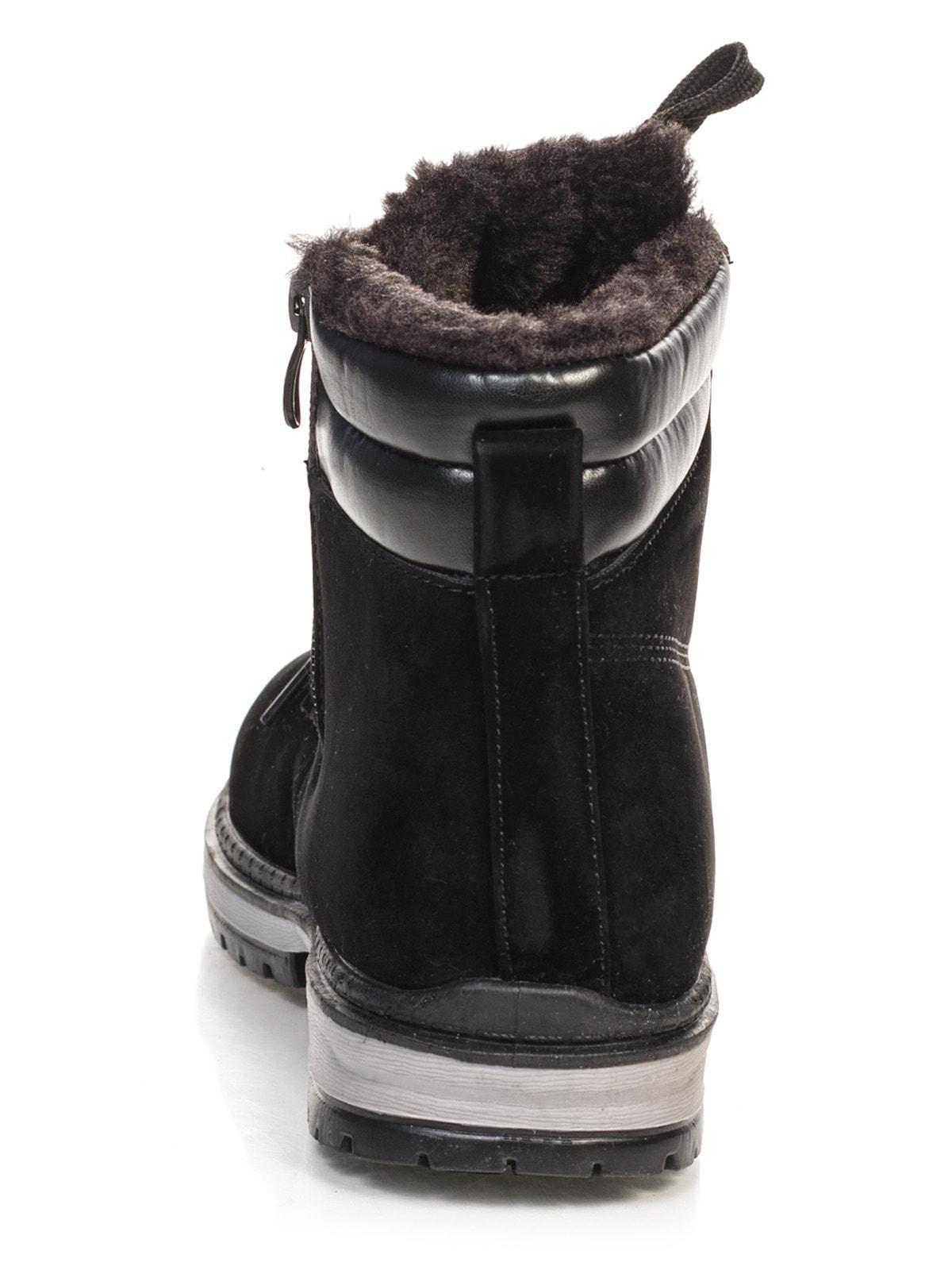 Ботинки черные | 4663758 | фото 3