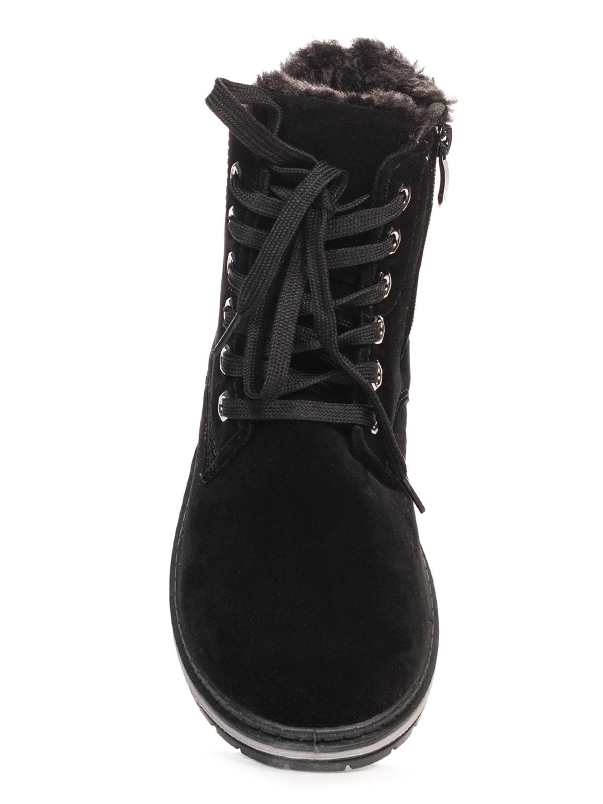 Ботинки черные | 4663758 | фото 4