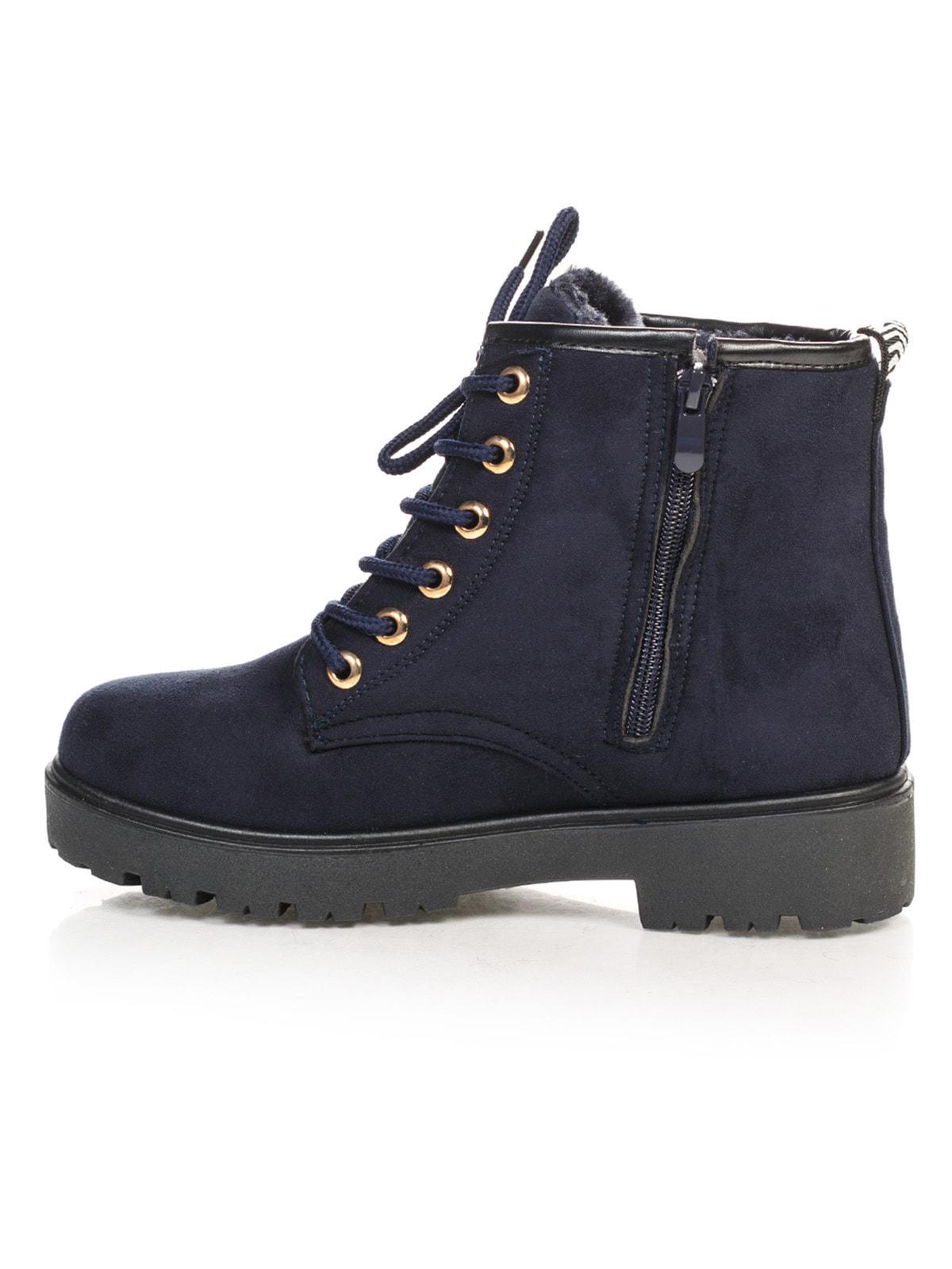 Ботинки синие   4663773   фото 2