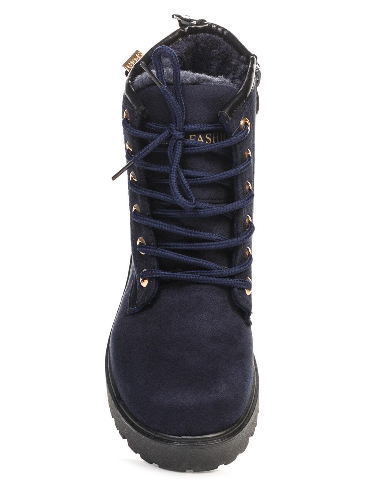 Ботинки синие   4663773   фото 4