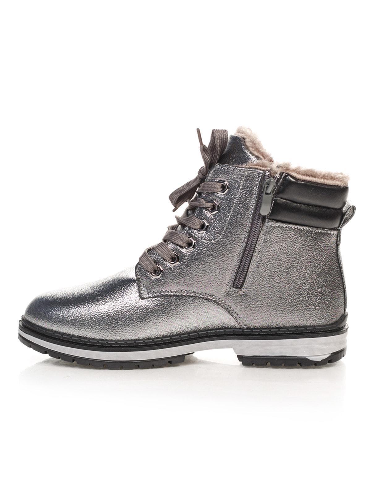 Ботинки серебристые   4663775   фото 2