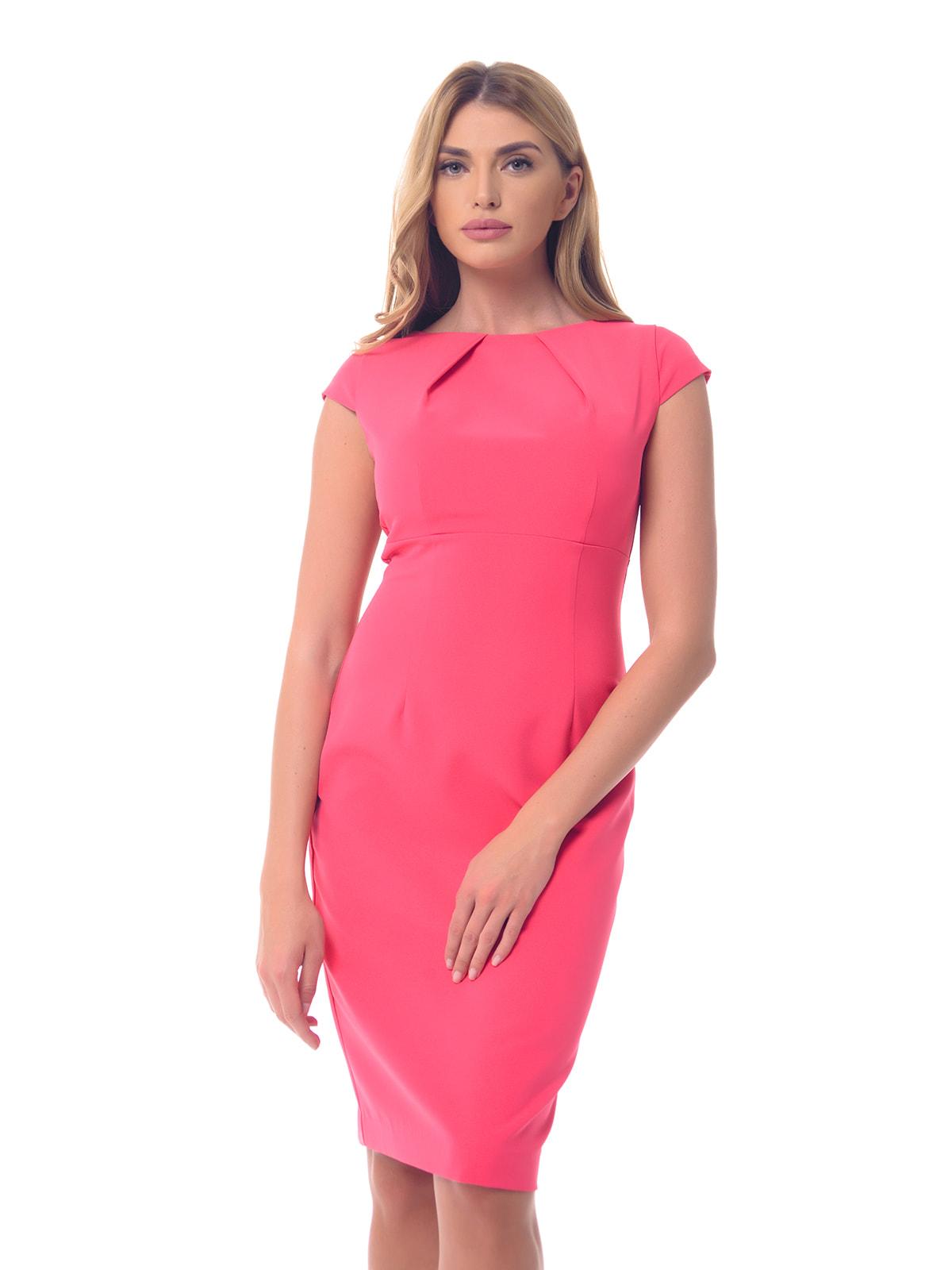 Платье розовое | 4697185